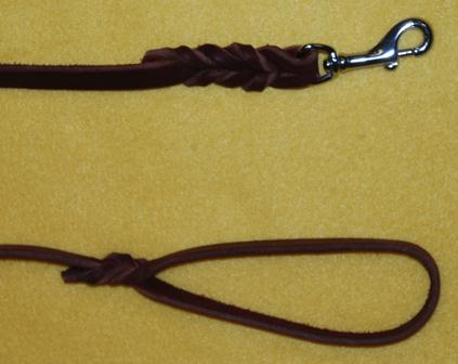 Leather Leash detail